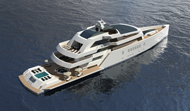 75m Motoryacht R & R with open hatches